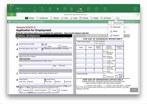 create fillable pdf forms in word form resume exles