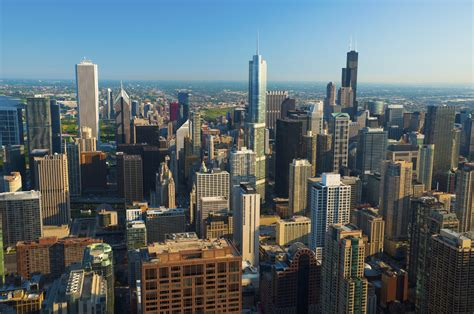 chicago skyline buildings identified making it real energy efficiency upgrade project