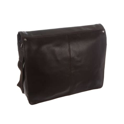 D Cheryl Iconic Smart Side Pouch Messenger Bag Iss Im darwin leather messenger bag brown the design company touch of modern