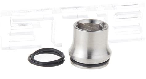 F01 Authentic Ud Huracan L3 Wide Bore Spiral Drip Tip Rda Rta Dript 1 66 authentic youde ud huracan l1 wide bore spiral drip tip 304 stainless steel 20 2mm