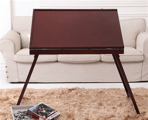 jigsaw puzzle tables portable jigsaw puzzle storage table tilting portable board folding