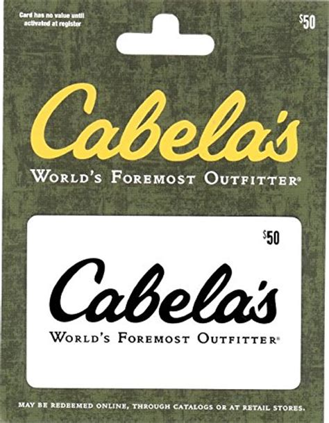 Where To Buy Cabela Gift Cards - cabelas 50 gift card sporting goods