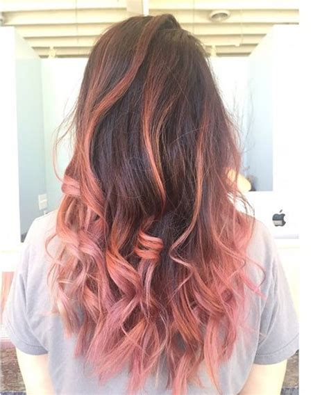 2016 pink hairstyle favorite unique pastel pink ombre hairstyles 2016 2017