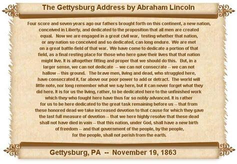 gettysburg address gettysburg address the gettysburg address
