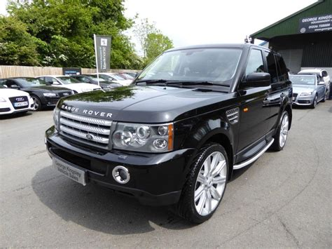 range rover sunroof used 2005 land rover range rover sport v8 supercharged