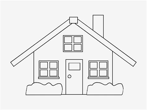 desenho de casas desenhos para pintar novembro 2013