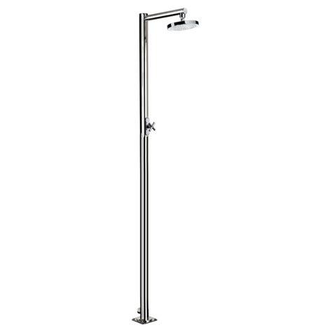 doccia da esterno doccia da esterno per piscina venere in acciaio
