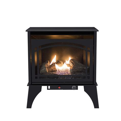 shop pleasant hearth 700 sq ft dual burner vent free