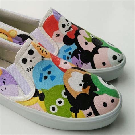 Sepatu Lukis Tsum Tsum 1 sepatu lukis dewasa disney tsum tsum ku ka
