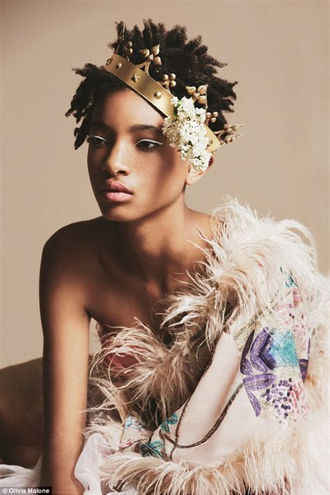 Other Designers Model Cole Has Designed A Line Of Purses willow smith models a collection of patterned socks