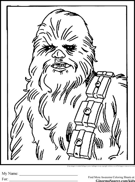 cartoon coloring pages star wars chewbacca coloring page coloring home