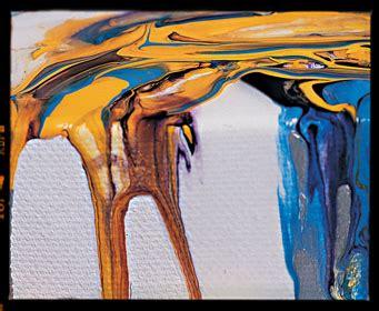 acrylic painting using medium liquitex pouring medium fluid acrylic pouring medium