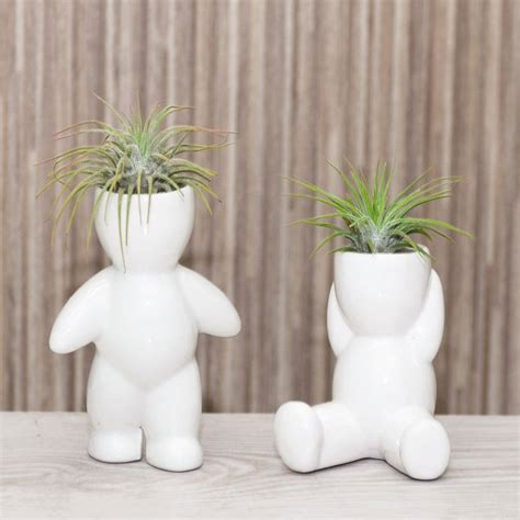 Ceramic Plant Holders Ceramic Figure Plant Holder With Plant By Dingading