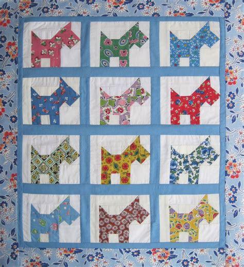 scottie quilt scottie dogs quilt