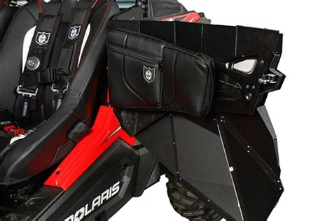 Pro Armor Rzr Doors by Pro Armor Door Knee Pad For Stock Doors For The Polaris