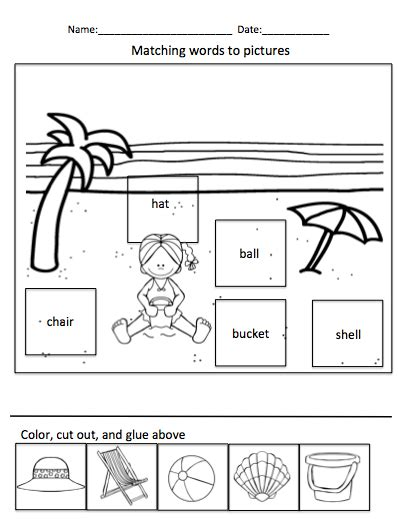 summer cut and paste worksheets all worksheets 187 summer cut and paste worksheets