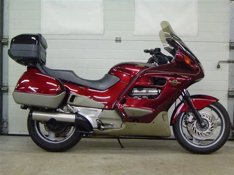 review motor honda st  bikenet