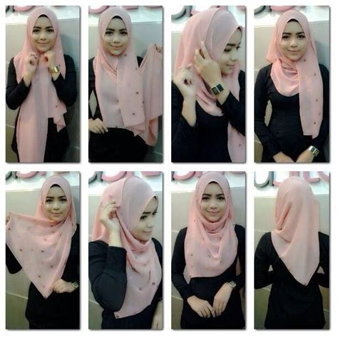 video tutorial berhijab simpel tutorial hijab pashmina simple untuk kuliah www imgkid
