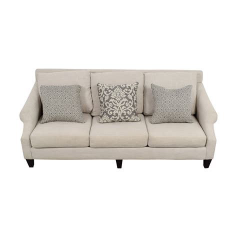 sofa bed rooms to go 59 off rooms to go rooms to go off beige three cushion