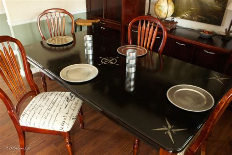Fusion Dining Table A Dining Table Transformation Fusion Mineral Paint