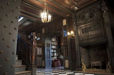 world interior mansion victorian  gothic interior