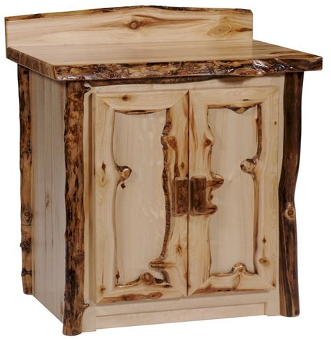 cabin bathroom vanity 30 quot rustic aspen log bathroom vanity aspen log bath room