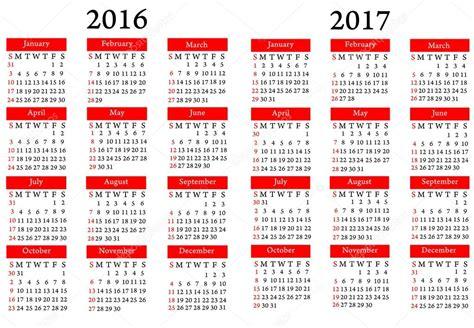 calendario 2016 y 2017 calend 225 rio 2016 2017 fotografias de stock 169 charger v8