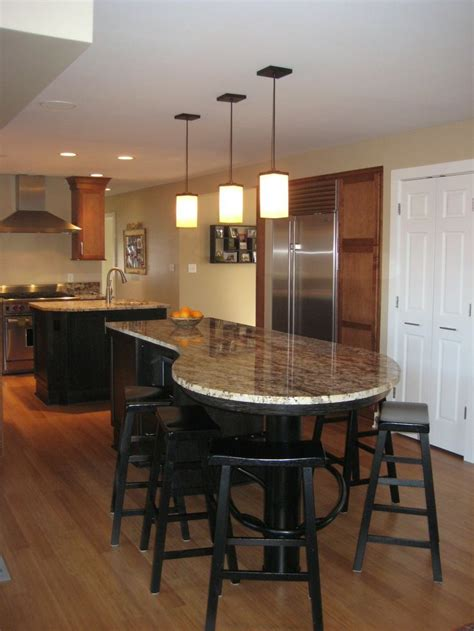 kitchen island with table seating 25 best ideas about narrow kitchen island on