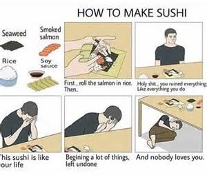 comment des sushis parfait