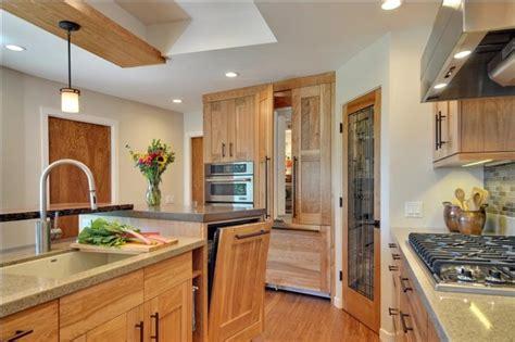 raised dishwasher  custom refrigerator panels