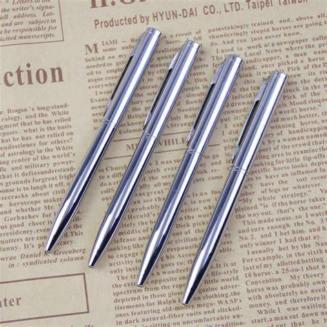 pena ballpoint metal silver jakartanotebook