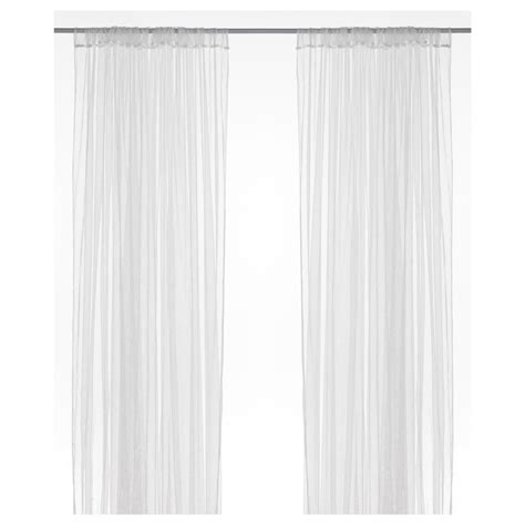 lill curtains ikea lill lace curtains 1 pair white
