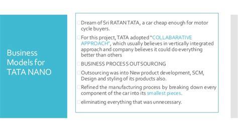 Study On Tata Nano Project Mba by Tata Nano Study Kellogg Solution Marketing Practice