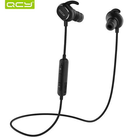 Nutech Wireless Headphine Earphone Bloethoot aliexpress buy qcy qy19 wireless earphones stereo bluetooth earphone ipx4 sweatproof