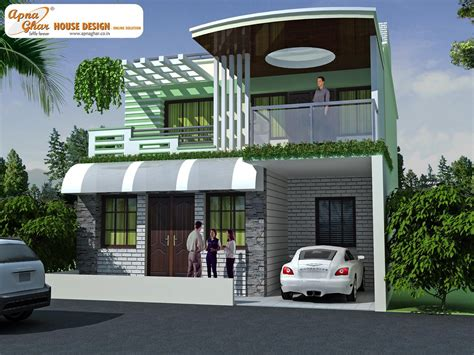 best duplex house modern plans designs india plan detached