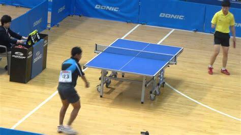Tenis Meja Tenis Meja tenis meja david vs ge yang tunggal putra korean open para tt 2013