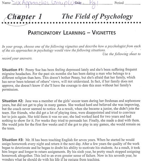 Free Printable Psychology Worksheets by High School Psychology Worksheets