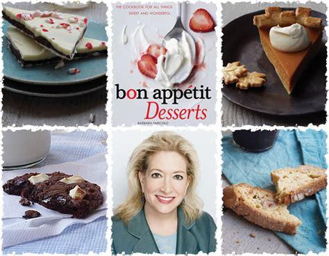 bon appetit desserts cookbook giveaway average betty