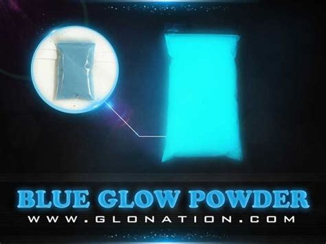 can you mix glow in the powder with regular paint mix with resin pour in of table blue glow