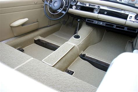 car upholstery installation mercedes sl w113 230sl 250sl 280sl carpet kit 1963 1971