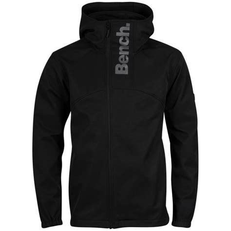 bench jackets mens bench men s commuter jacket black grey clothing zavvi com