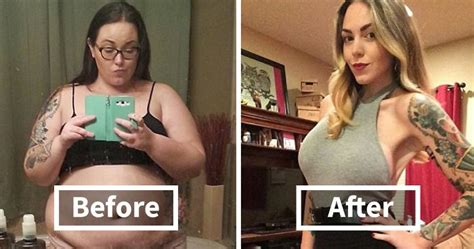 weight loss before and after 10 before and after weight loss pics you won t