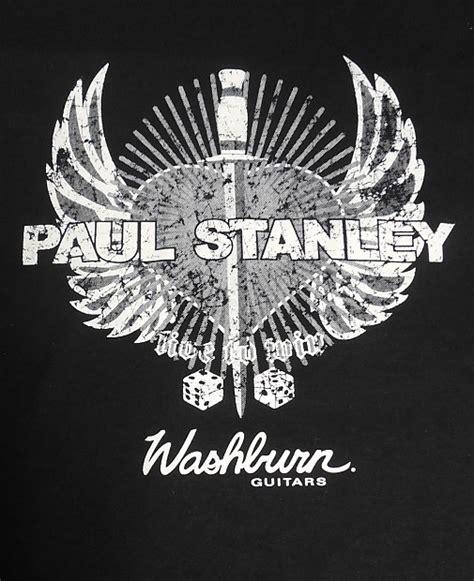 t shirt washburn guitars new paul stanley from large xl shirt t