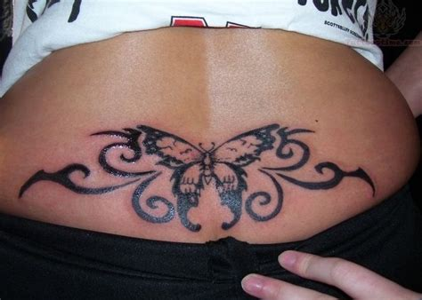lower back butterfly tattoo designs tattoos back tattoos tribal lower back tattoos designs