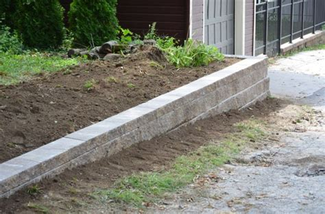 how to build a retaining wall omaha landscape design