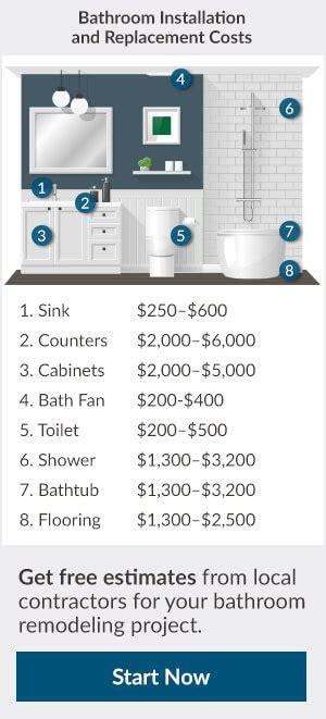 2017 bathroom addition cost how much to add a bathroom