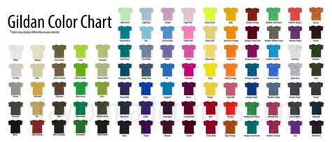 gildan softstyle colors gildan color chart oasis fashion