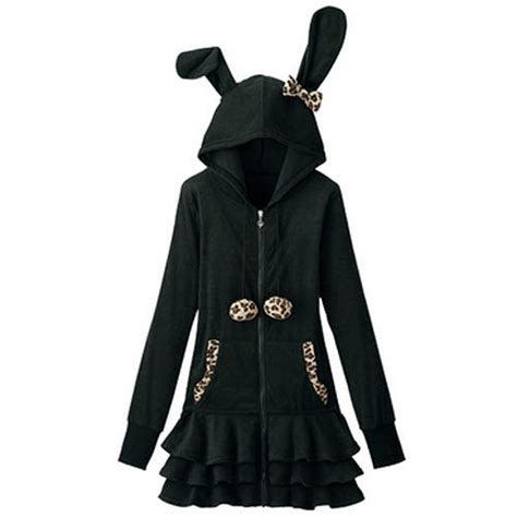 Jaket Rabbit Hodie cdjapan rabbit ear hoodie w frill s cool japan