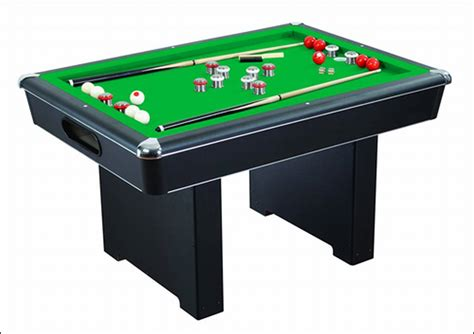Bumper Pool Table by Renegade Slate Bumper Pool Table Ng2404pg