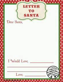 Blank Letter From Santa Template by Top 15 Best Blank Letters To Santa Free Printable Templates
